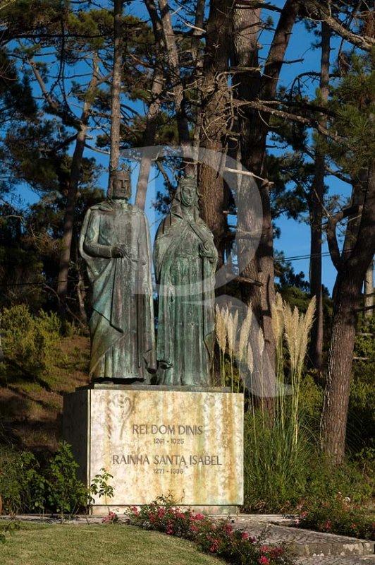 D. Dinis e Santa Isabel, em São Pedro de Moel