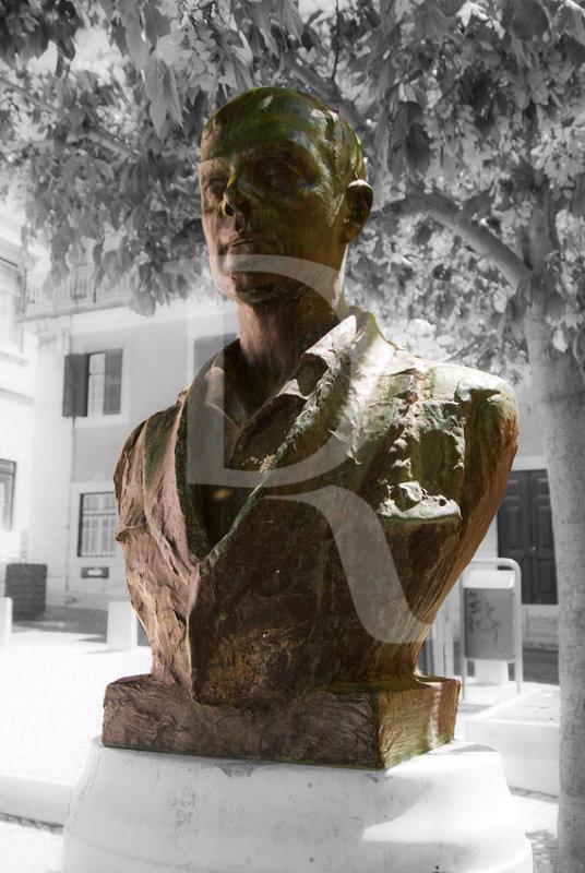 Busto de Afonso Lopes Vieira, por Francisco Franco (1951)