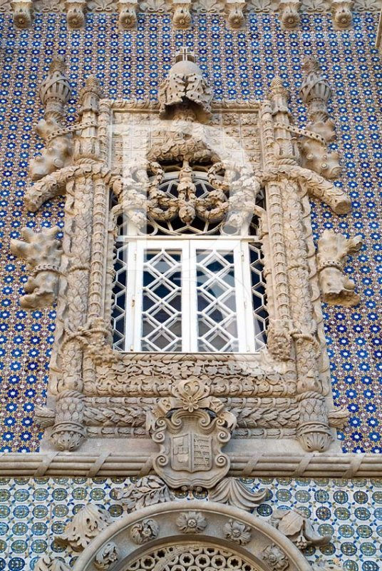 Windows of Pena Palace