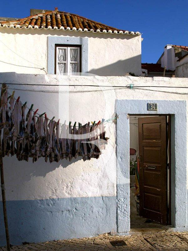 Casa de Pescadores com Cabeção no Estendal