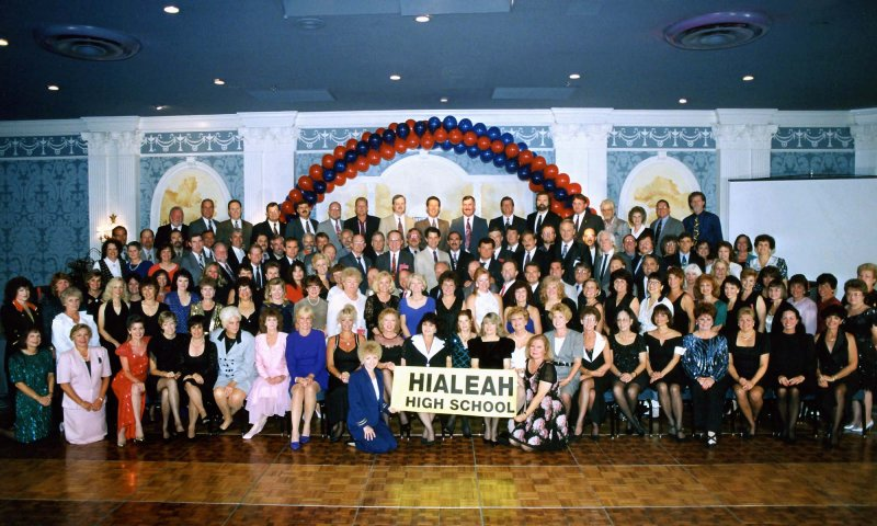 1995 - 30-Year Reunion for the Hialeah High School Class of 1965