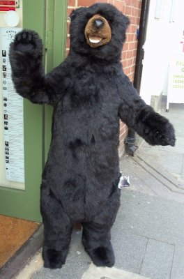 FURRY SHOP  DOORMAN!