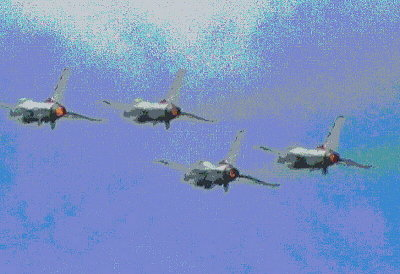 A FLYING DISPLAY   1468