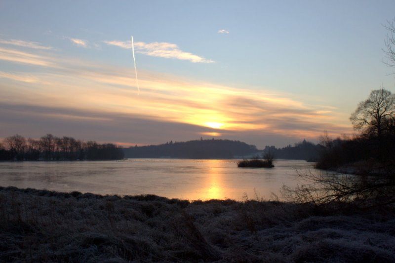 Cold Morning At Castle Howard Lake