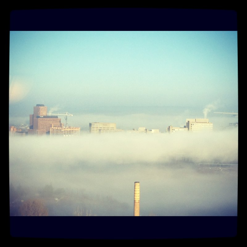 13 - foggy mornings over place du portage