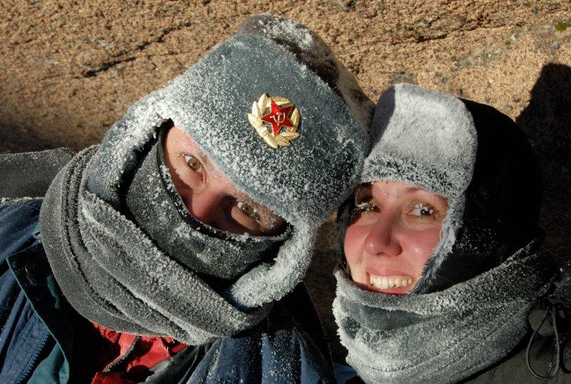40 below zero (Brazilian guests from Sao Paulo)