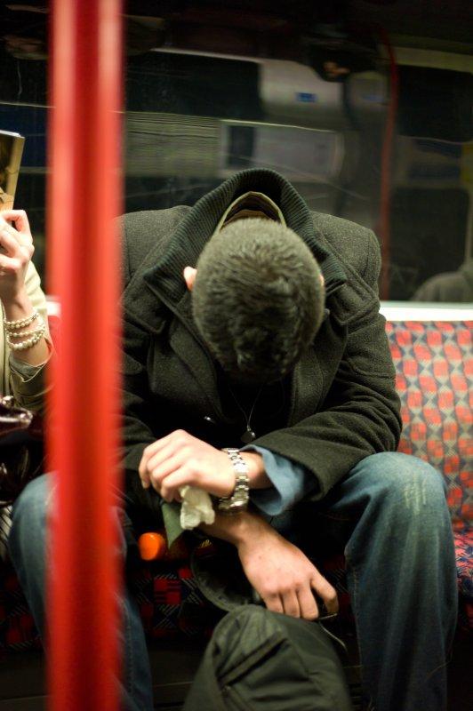 Asleep on the Bakerloo