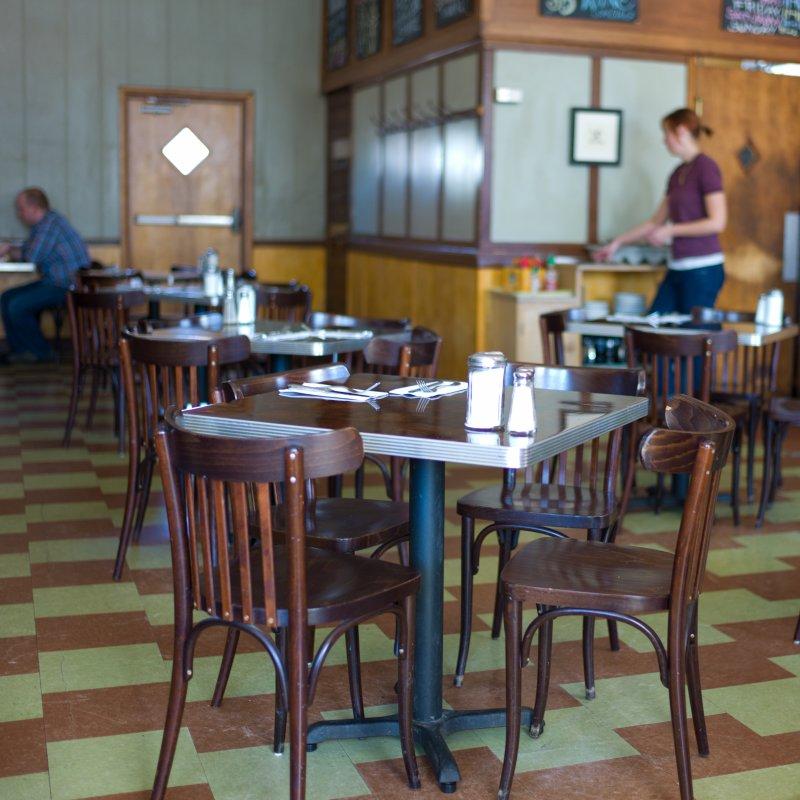 Modern Cafe Table