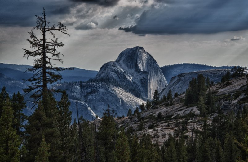 Halfdome from Olmstead Point