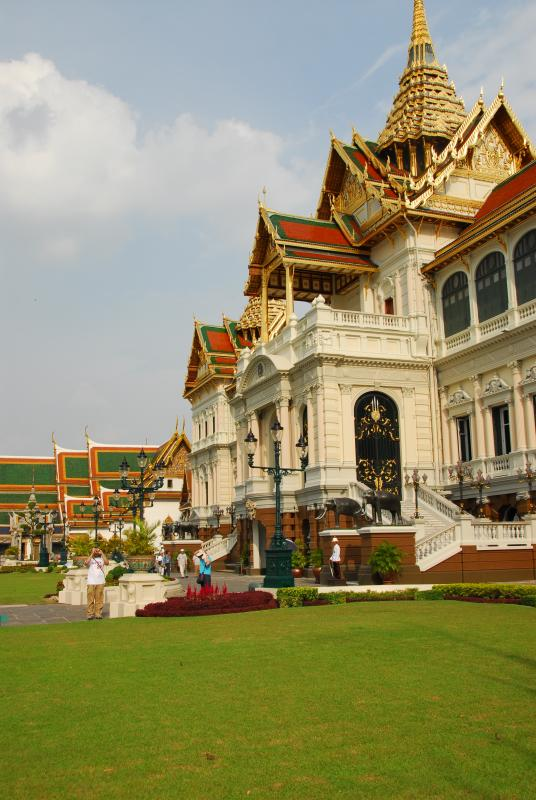 Grand Palace with Lawn