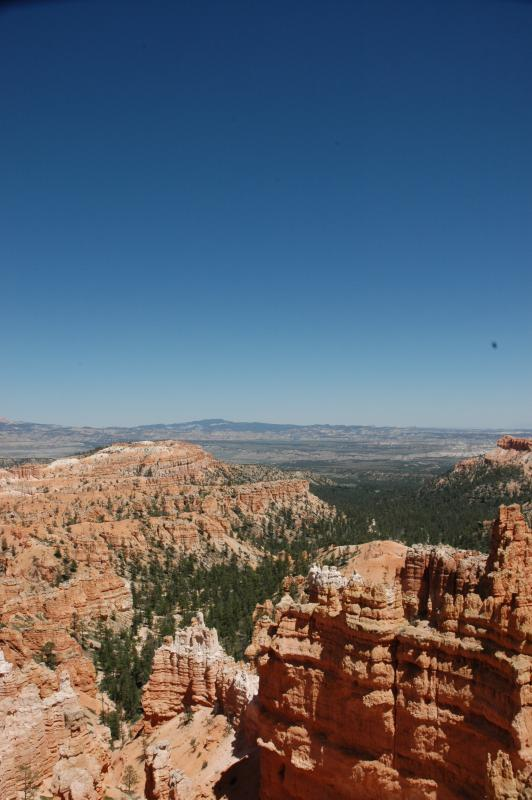 Bryce with Blue Sky