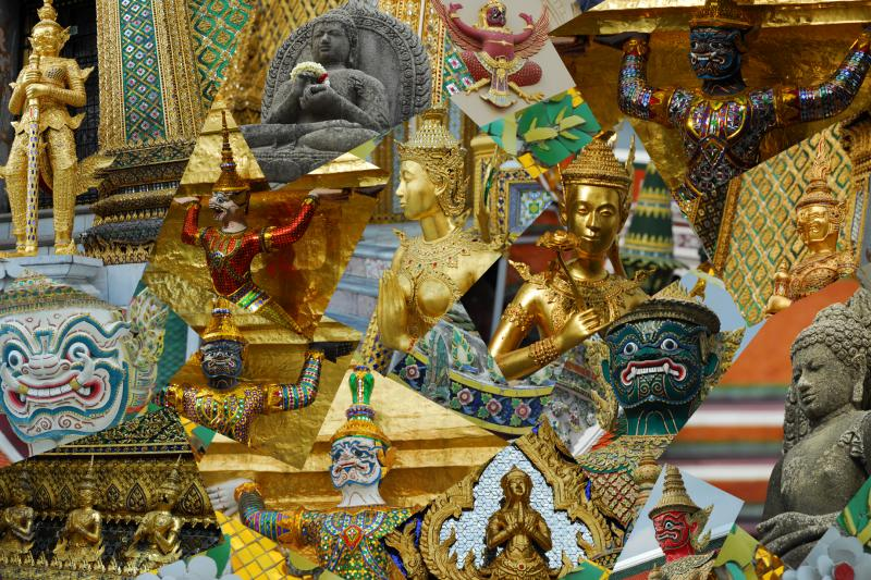 Grand Palace Collage
