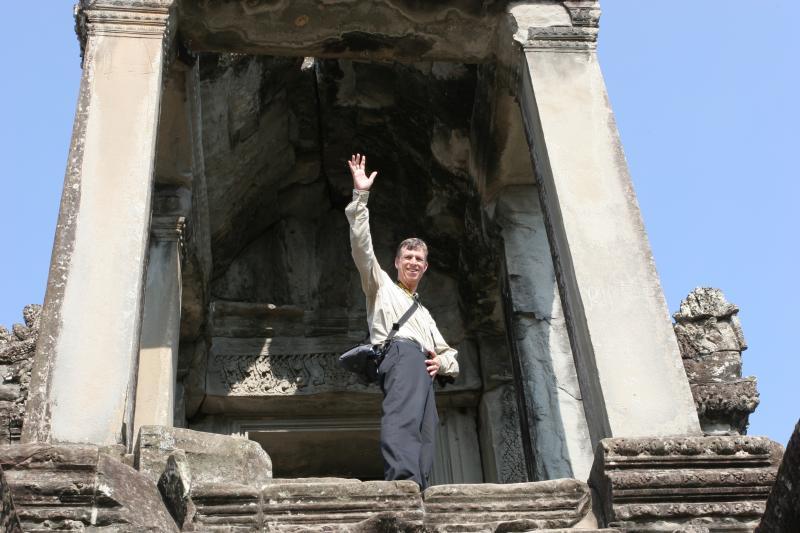 Top of the Steps Angkor Wat