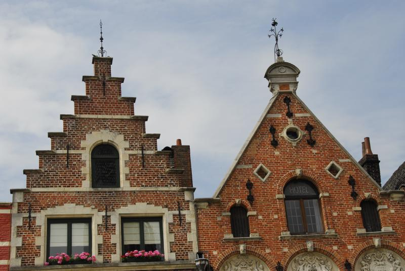 Brugge Roof and Sky 03