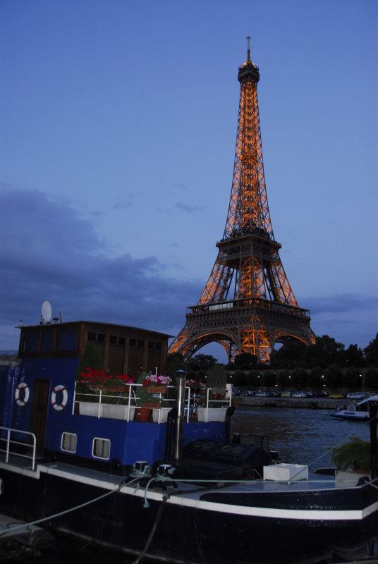 Eiffel from the Seine