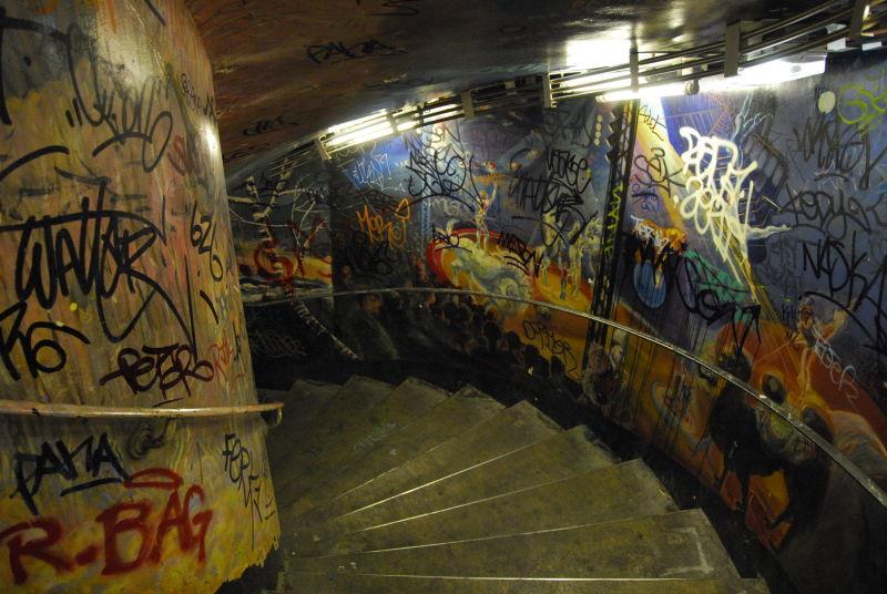 Abbesse Stairs