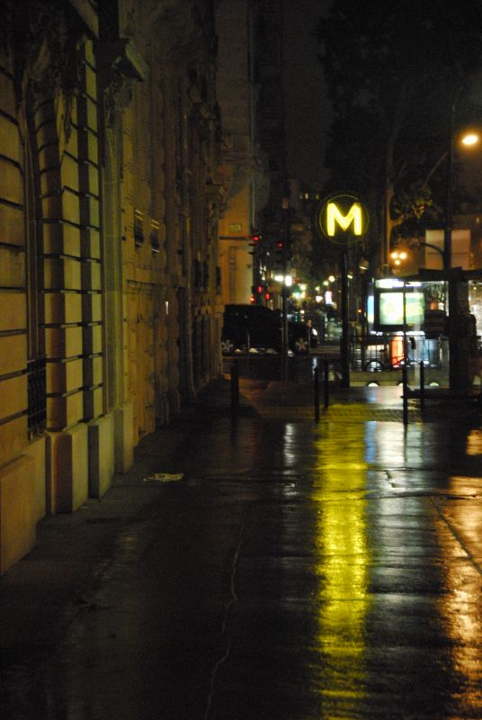 Courcelles at Night 02