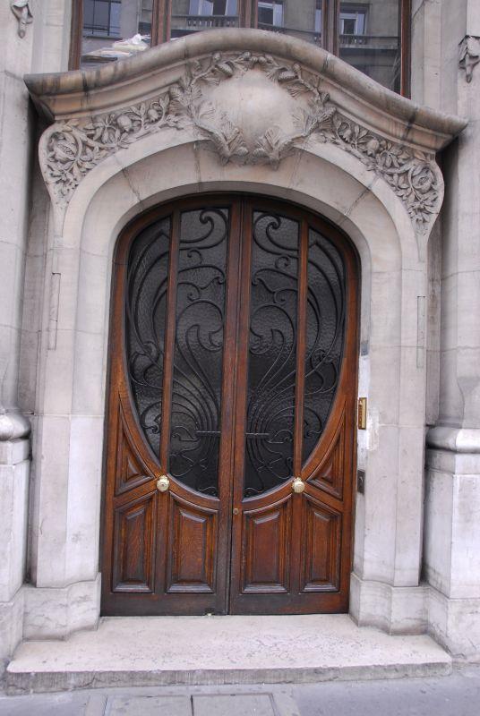 Door with Oval Glass