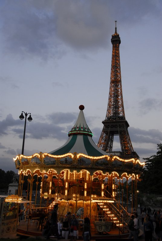 Tower and Carousel