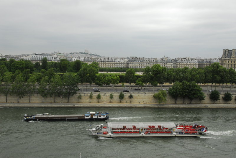 Boats and Sacre Couer