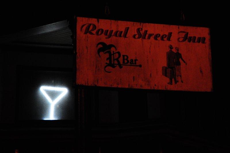 Royal Street Inn (Martini Glass)
