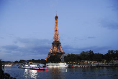 Eiffel and Reflected Light