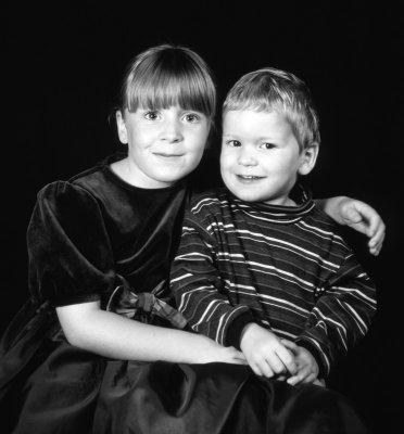 Kids in B&W