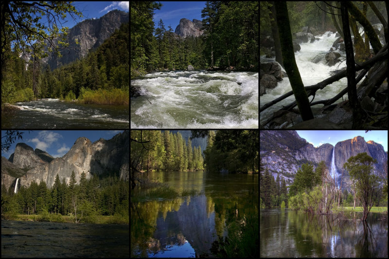 Yosemite Valley Summer 2011...  a big year for water