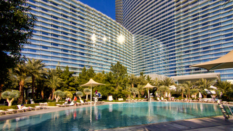 Aria Casino Pool 2