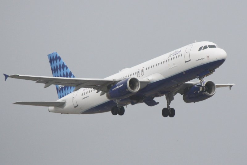 Airbus A320 (N529JB) Ole Blue Eyes