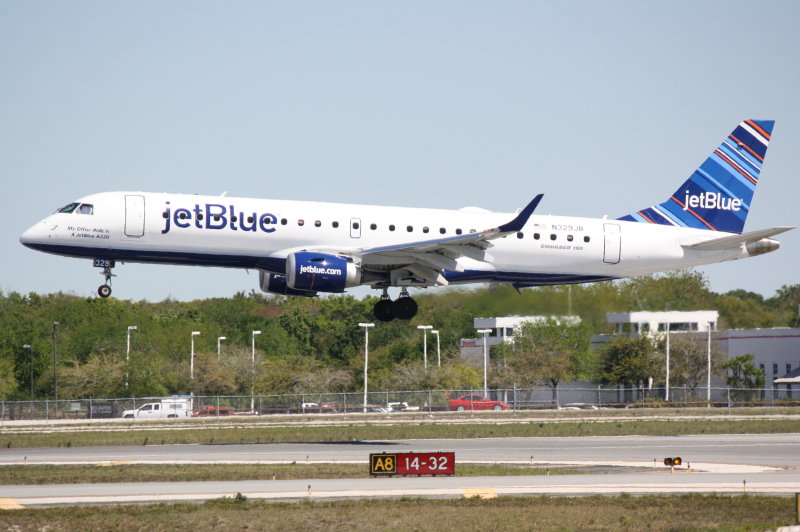 Embraer 190 (N329JB) My Other Ride Is A JetBlue A320