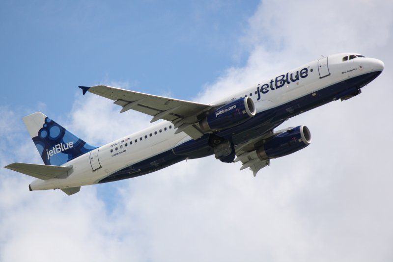 Airbus A320 (N568JB) Blue Sapphire
