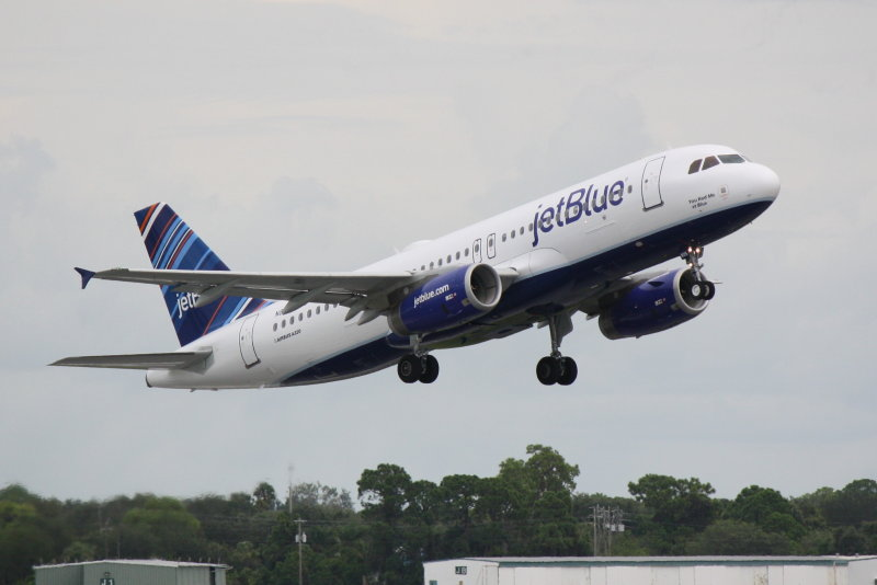 Airbus A320 (N805JB) You Had Me At Blue
