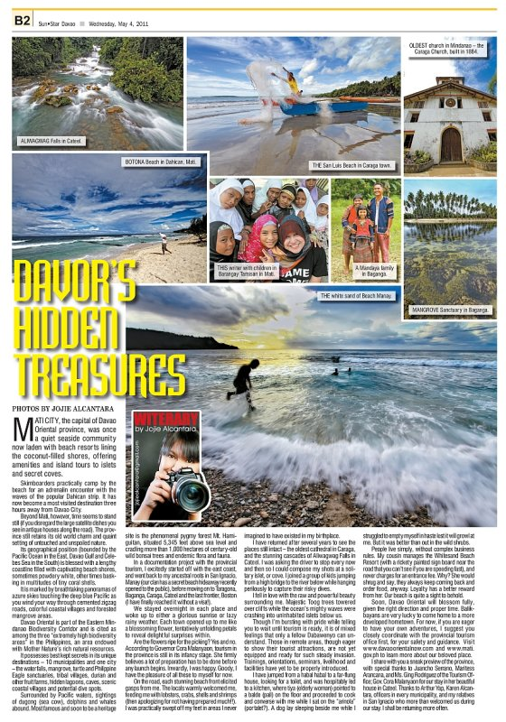 Davao Oriental Hidden Treasures