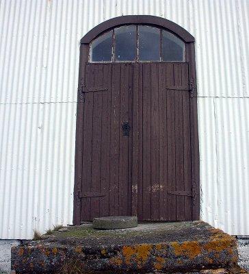 Dagverðarnes kirkjuhurð