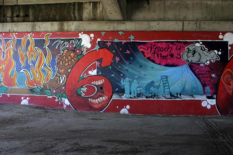 Underpass at Entrance to Granville Island, South Side