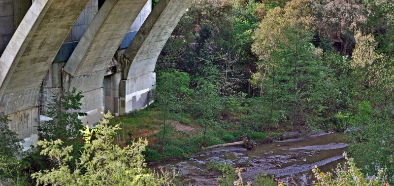 CA134 (Ventura Fwy)  Bridge Crossing the Arroyo Seco
