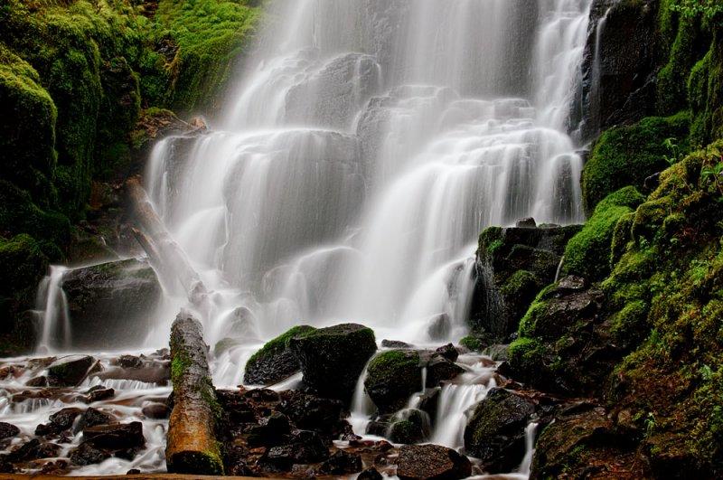 Fairy Falls -- Columbia River Gorge