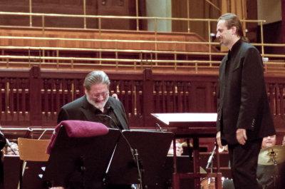 På Prague Proms-konsert i Folkets Hus: Bobby Shew spiller-