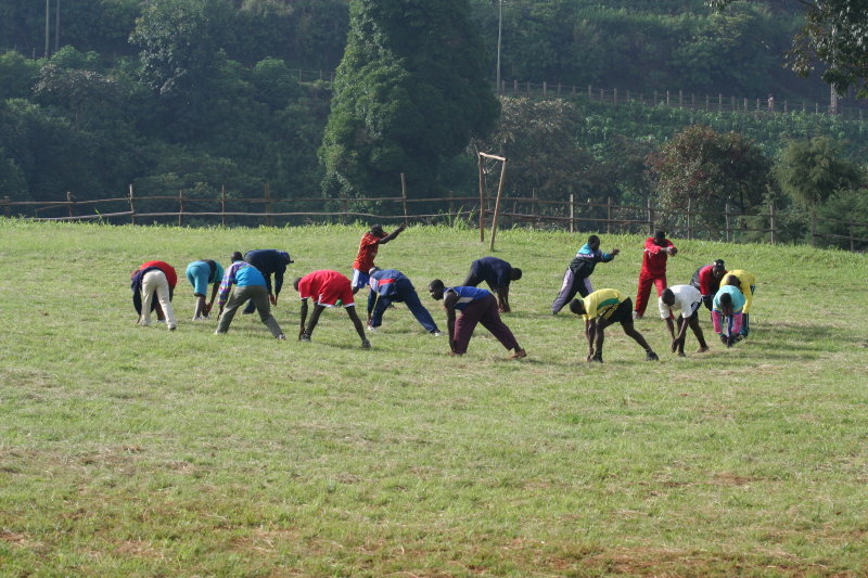 Soccer practice, Kumbo