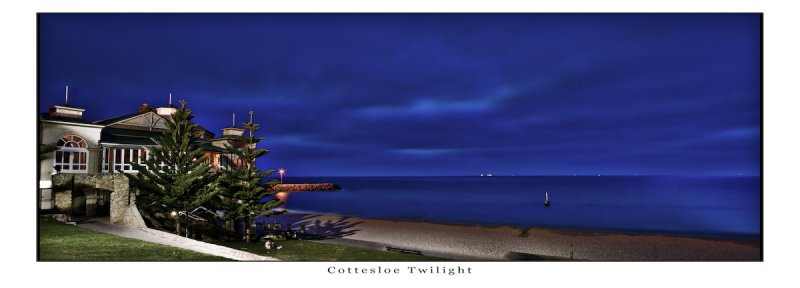 Cottesloe Beach Twilight (HDR) reloaded