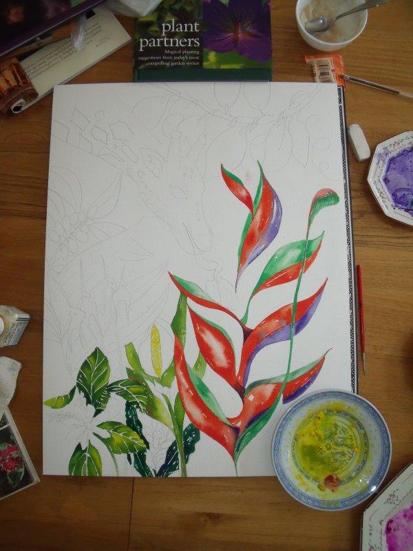 Day 2: work in progress