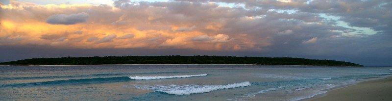 Jaco Island sunset