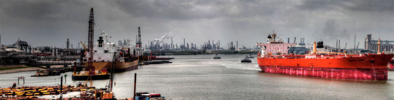 Ship Channel Panorama