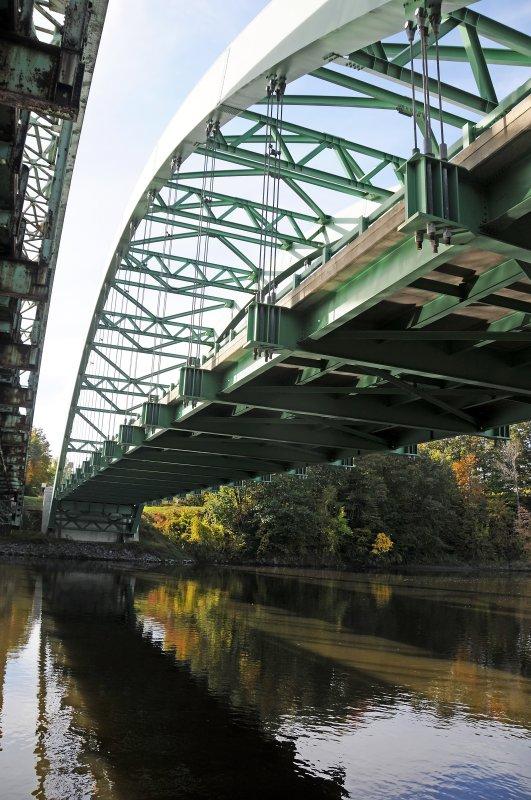 Connecticut River Bridge at Vermont/New Hampshire Border