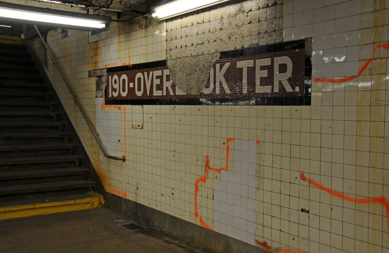 190 - Overl&&k Terrace Subway Station