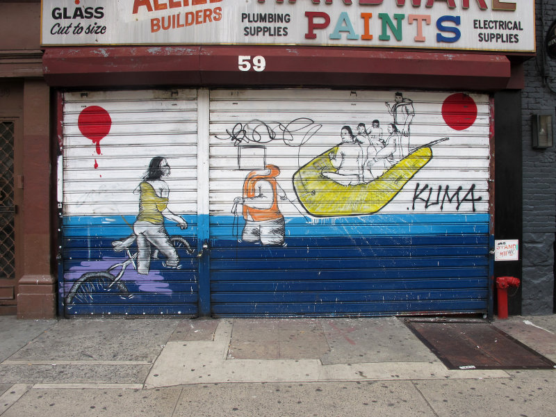 Storefront Mural