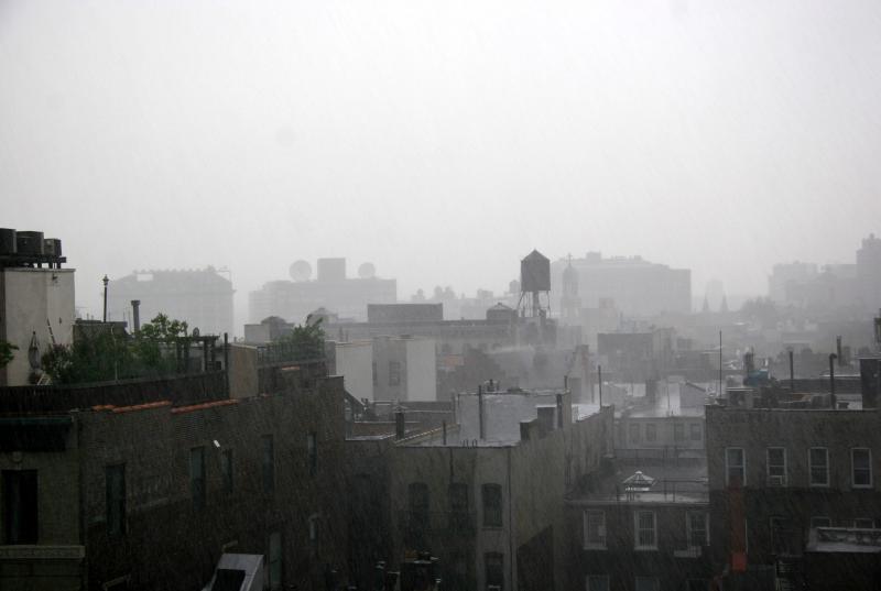 West Greenwich Village - Late Afternoon Rain