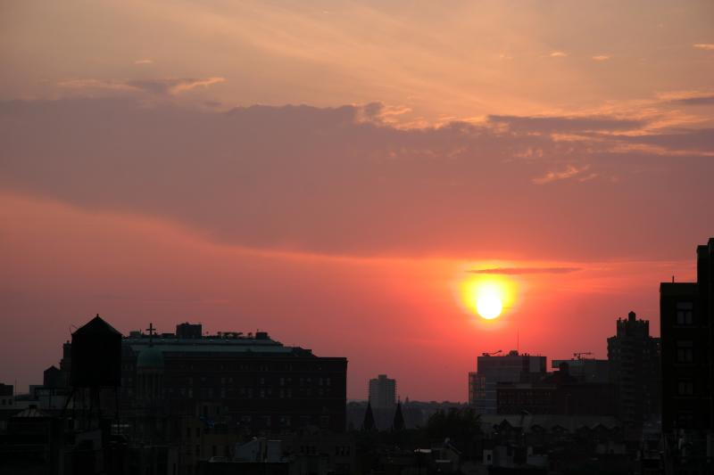 Sunset - West Greenwich Village & New Jersey Palisades