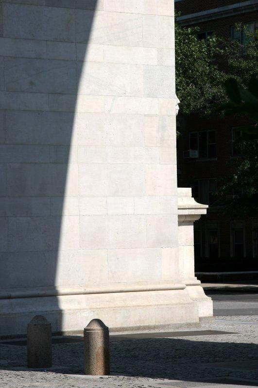 Morning Walk by Washington Square Arch
